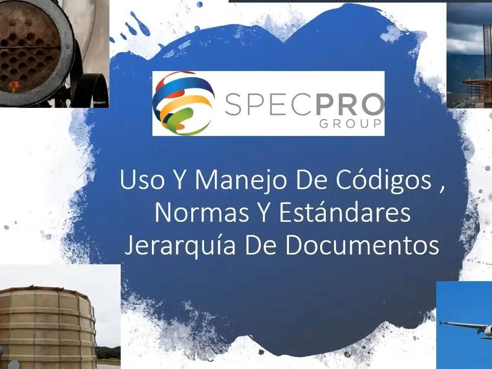 Uso y Manejo de Códigos, Normas y Estándares - Jerarquía de Documentos