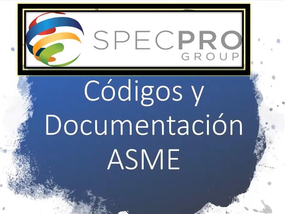 Código y Documentación ASME