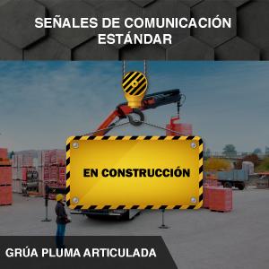Señales de Comunicaciones Estándar - Grúa Articulada