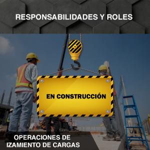 Responsabilidades y Roles - Operaciones de izamiento de cargas