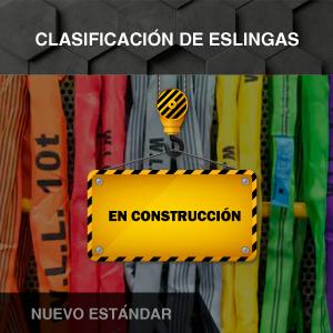 Clasificación de eslingas - Nuevo estándar